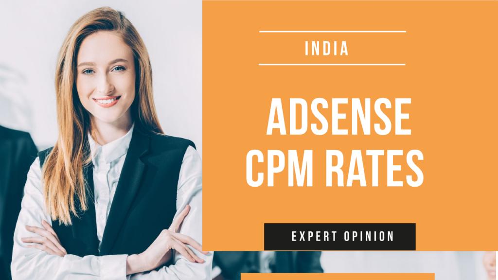 AdSense CPM Rates in India
