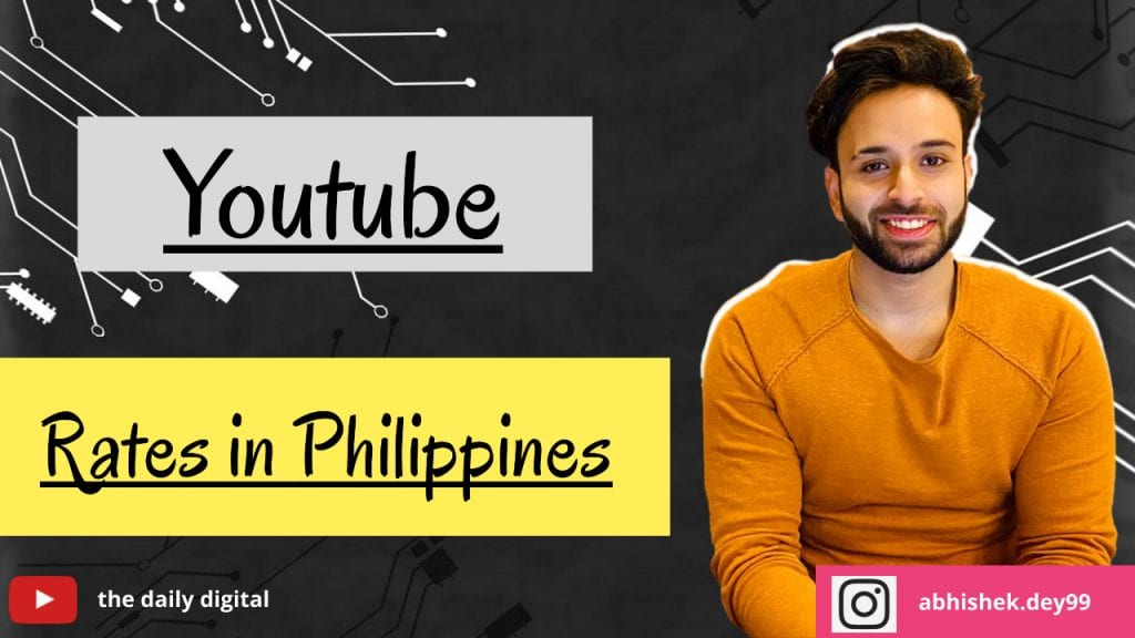 YouTube CPM Rates in Philippines