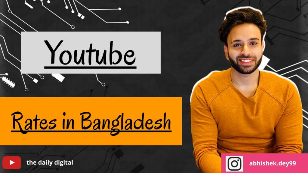 YouTube CPM Rates in Bangladesh