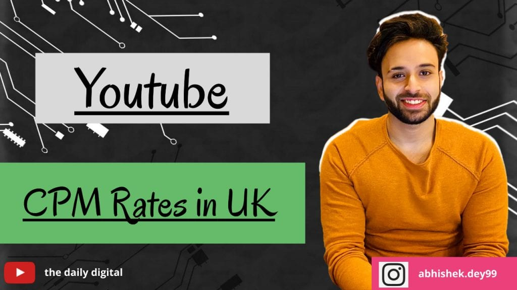 YouTube CPM Rates in UK