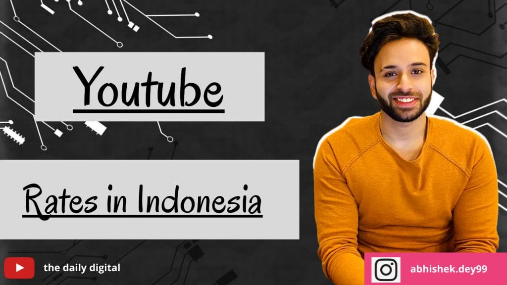 YouTube CPM Rates in Indonesia